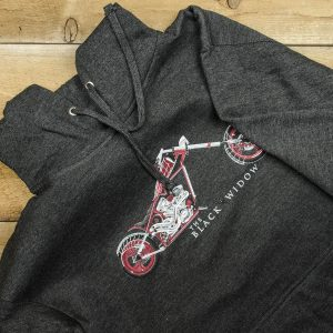 Paul Jr Designs Black Widow Hoodie