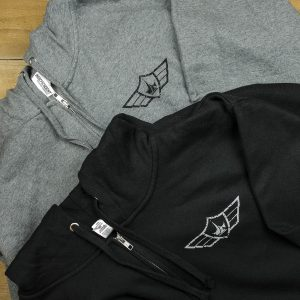 Paul Jr Designs Wing Hoodie