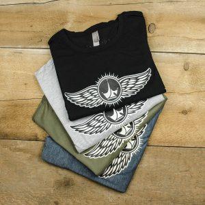 Paul Jr Designs Wing Logo T-Shirt