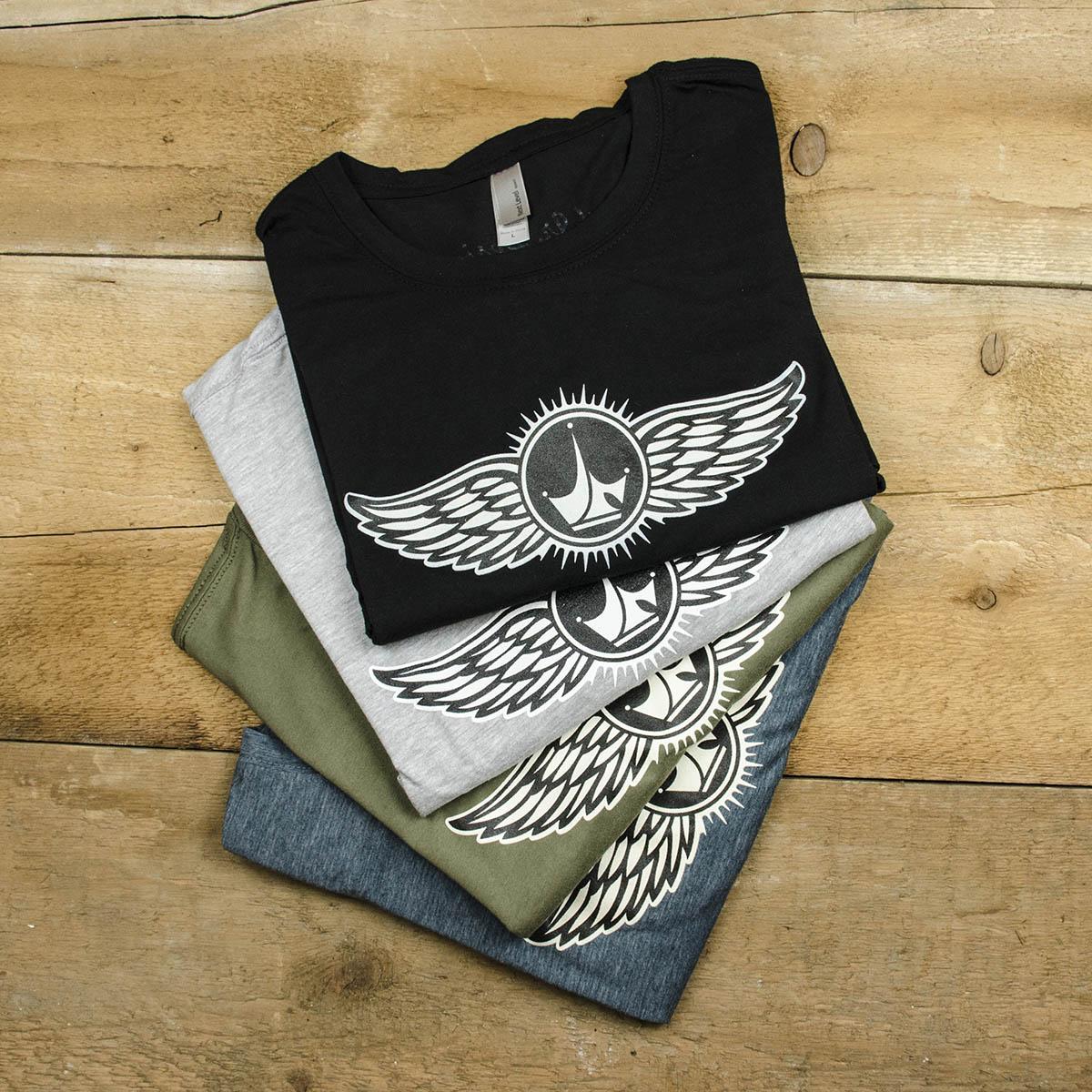 b7f5aae8 Wing Logo T-Shirt - Paul Jr. Designs