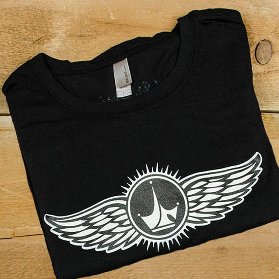 Big and Tall Winged Logo T-Shirt