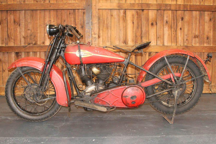 1929 Harley Davidson Model JD - Paul Jr  Designs